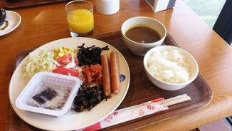 中国北京大連上海留学 大連民航ホテル 朝食