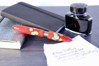 glass pen write ink unique bock ag collectibles