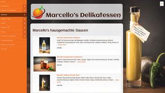 Marcellos Delikatessen Online-Shop