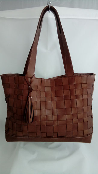 sac tressé, cuir, sac fabrication française, sac haut de gamme, made in france, sac fait main