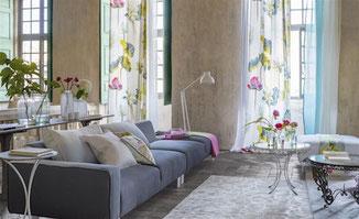 Designers Guild Tissus Couture Rose