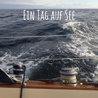 Blogpost: Ein Tag auf See