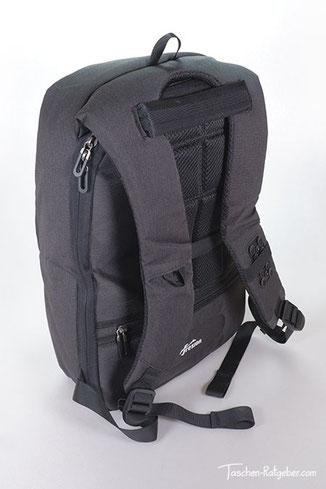 rucksack reißverschluss am rücken