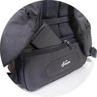 Rucksack mit Geheimfach am rücken, rucksack mit geheimfach, rucksack geheimfach