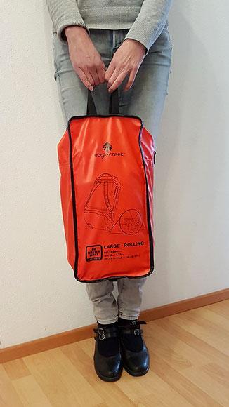 Cargo Hauler Rolling Duffel Tasche, Outdoor Reisetasche mit Rollen, Segel Reisetasche.