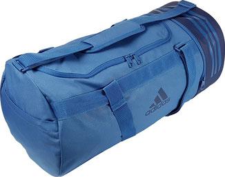 Runde Sporttasche, Adidas Convertible