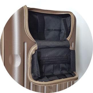 Frontklappe Havel Hauptstadtkoffer Koffer, Handgepäck-Koffer Lapotopfach
