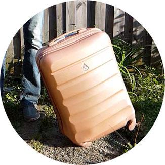 Aerolite Trolley Test, Handgepäck Test, Koffer Handgepäck Test