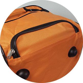 Reißverschluss Abdeckung Deuba Reisetasche