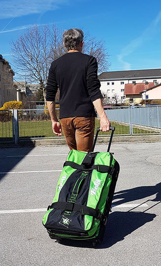 Bogi Bag Test: Moderne Reisetasche Trolley im Test (Bogi Bag 85l)