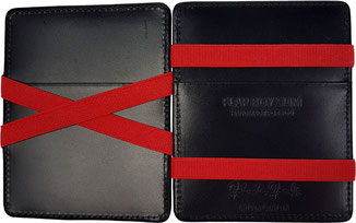 handgearbeitete Magic Wallet Geldbörse Leder