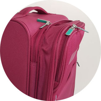 American Tourister expandable = Trolley erweiterbar