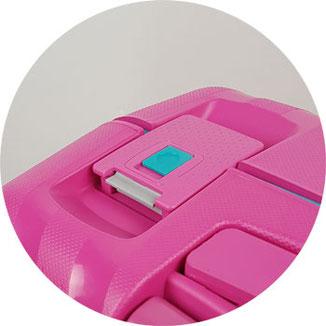 Koffer ohne Reißverschluss
