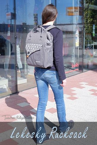 lekesky rucksack, studenten rucksack diebstahlsicher