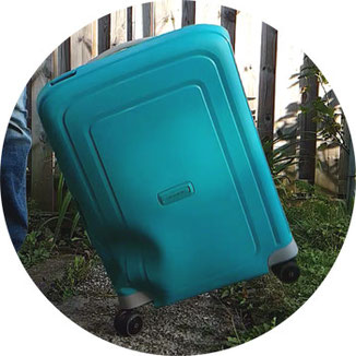 Falltest Samsonite S'Cure