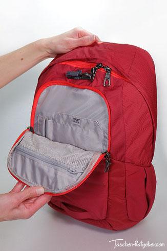 rfid rucksack, rucksack mit rfid schutz