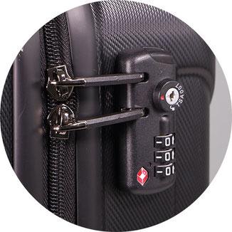 Rucksack mit TSA Schloss, Rucksack tsa