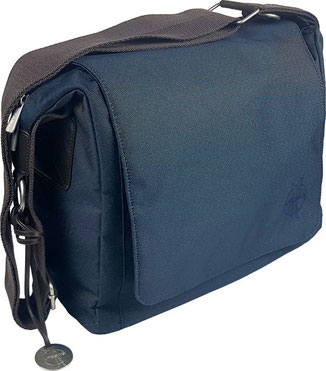 lässige Wickeltasche Messenger Bag