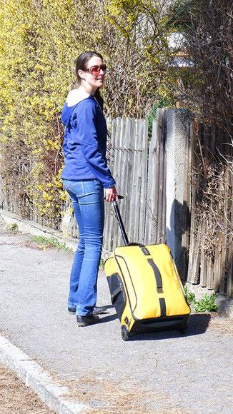 Samsonite Paradiver Light Test - Eine gute Reisetasche mit Rollen und Rucksackfunktion im Test, reisetasche mit rollen und rucksackfunktion test