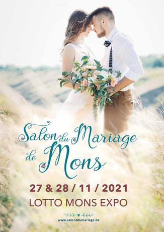 Salon du Mariage de Mons 27 et 28 Novembre 2021