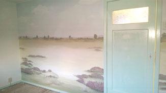 Phebe-Rustgevende-Muurschilderingen-Heidelandschap