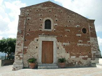 Chiesa della Madonna della Catena: facciata lato nord