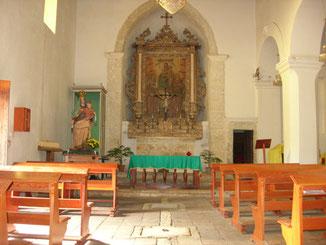 Chiesa della Madonna della Catena: interno