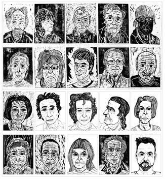 """""""Das Künstlerhaus""""-Porträts von den Künstlern aus dem Atelierhaus 2014"""