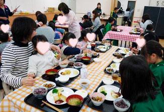 伝統食は切干大根、大豆、サンマ…子どもたちの口に合うのかという心配も、残飯の少なさにホットしました