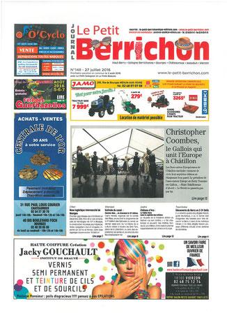 Le Petit Berrichon - 27 Juillet 2016