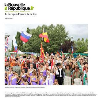 La Nouvelle République  - 18 Juillet 2016