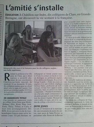 La Renaissance Lochoise - Novembre 2013