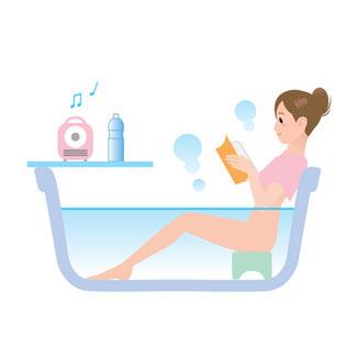 半身浴で冷えとりがオススメ