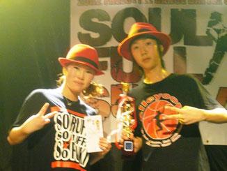 優勝:M&N (NAO、MIKU)