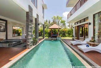 Canggu 1, 2 or 3 bedroom villa for rent nearby the Canggu Club.