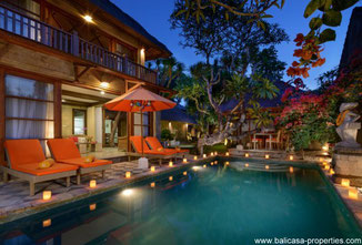 Sanur 4 bedroom villa available for yearly rental.