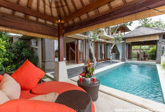 Ungasan 3 bedroom villa for rent with scenic views.