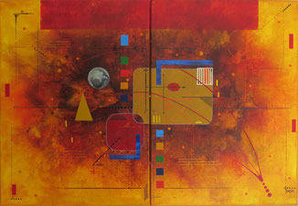 delta peinture abstraite daluz galego