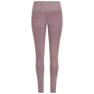 Yoga Leggings stone washed violett