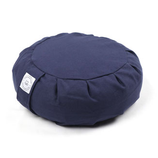 MeditationskissenZafu uni navy blau