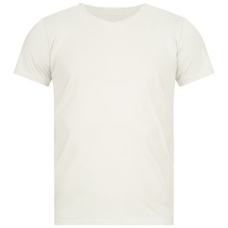 Herren Yoga T-Shirt weiss