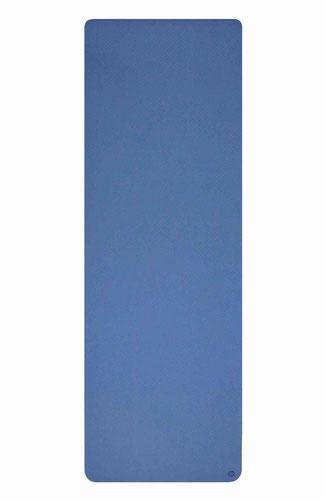 Yogamatte navy blau