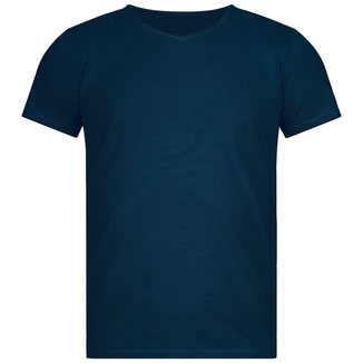 Yoga T-Shirt Herren navy Bambusviskose
