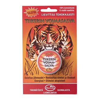 Tigerbalsam gegen Verspannungen und Erkältungen