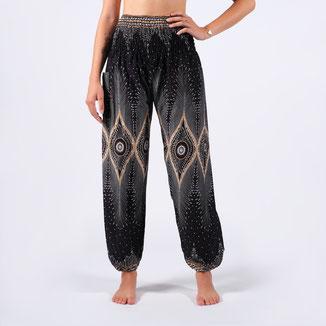 Boho Pants Orient schwarz