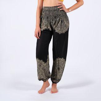 Thai Pant Boho schwarz