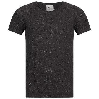 Herren Yoga T-Shirt anthrazit