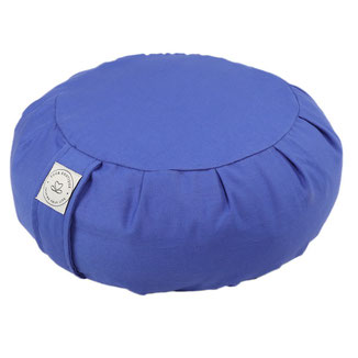 Meditationskissen Zafu blau