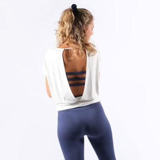 Yoga Shirt Rückenfrei Freestyle