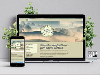 site Internet gîte touristique